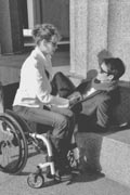 Portrait-Of-Man-And-Woman-In-Wheel-Chair-at-Nashvilles-Parthenon