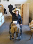 Woman-in-wheelchair-at-Yarra-Valley-Winery
