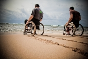 Hawaii-wheelchair-tracks-in-the-sand