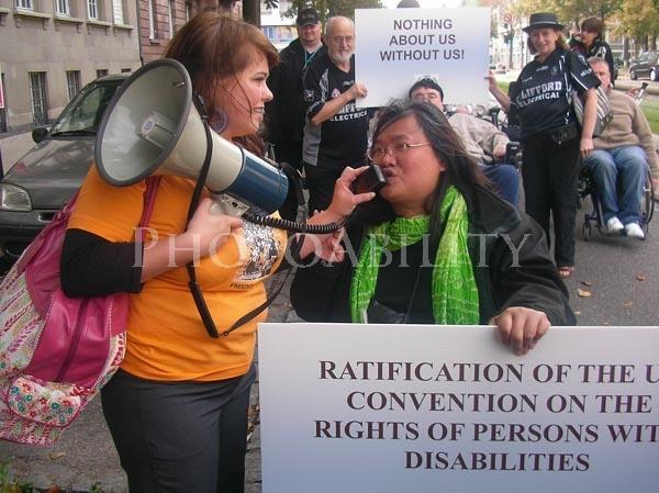 UN CRPD Ratification Rally