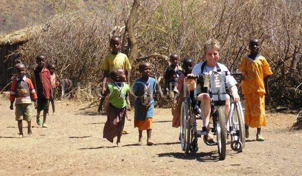 Sue Marshall in Africa