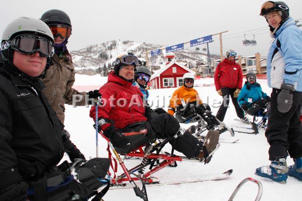 Adaptive snow sports