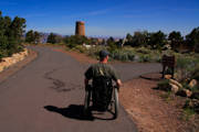 Man-using-wheelchair-at-the-Grand-Canyon