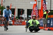 Man-in-handcycle-in-road-race