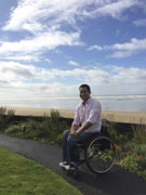 Young-man-in-wheelchair-on-coastal-path