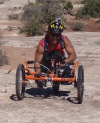 Off-road-handcycling