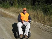 Man-in-wheelchair-out-hunting