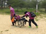 Man-in-wheelchair-at-the-beach