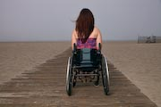 wheelchair;-woman;-women;-disability;-disabled;-access;-accessibility;beach;ocean;cafe;drinks;coffee;tea;dinning;friends;conversation;meeting;social;beach-access;prominade;foreshore