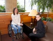 Woman-in-wheelchair-at-ski-lodge