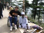 Man-in-wheelchair-on-Himalayan-mountain-trail