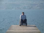 Man-in-wheelchair-on-jetty-in-Turkey