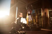 Woman-in-wheelchair-in-Glendale-in-the-lead-up-to-Super-Bowl-49