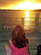wheelchair;female;woman;access;accessibility;inclusive;water;sunset;reflection;pier;jetty