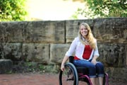 Young-woman-in-wheelchair-in-the-garden