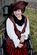 Girl-in-wheelchair-dressed-up-for-Halloween