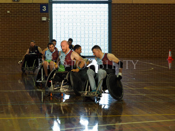 For the first time in the history of Vitorian Rugby, the teams in the cup are aligned with four of the top rugby union clubs in Melbourne - Box Hill, Harlequins, Power House and Unicorns - wearing the same team colours as their rugby counterparts. The VRU has shown great vision and passion in making wheelchair rugby part of their rugby family