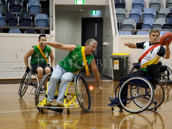 Wheelchair Australian Rules Football Championship