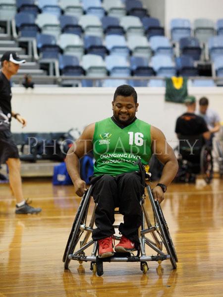 Wheelchair american football