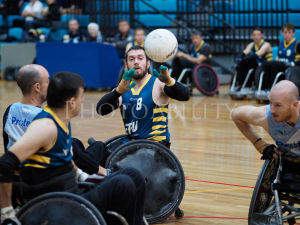 Round 2 of the 2017 Fierce 4 Rugby Challenge in Melbourne @disabilitysportandrec @wheelchairrugbyau @richard_amon @disabilitysportsaustralia @wheelchairsportsnsw