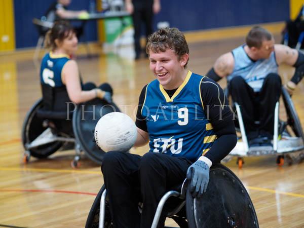 Round 2 of the 2017 Fierce 4 Rugby Challenge in Melbourne @disabilitysportandrec @wheelchairrugbyau @richard_amon @disabilitysportsaustralia @wheelchairsportsnsw