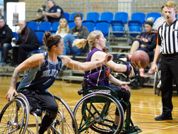 Womens National Wheelchair Basketball League Round 4 hosted by the Red Dust Lady Heelers