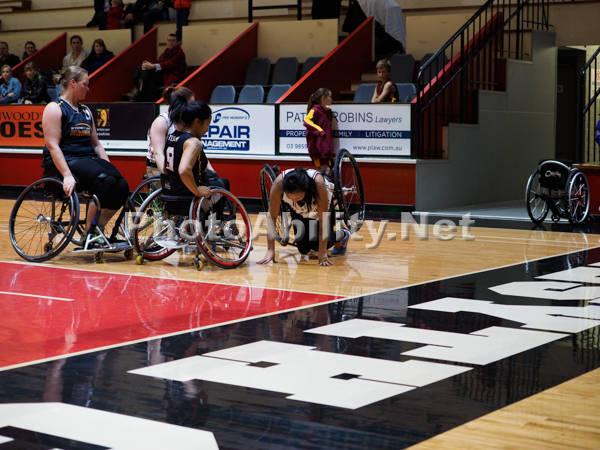 Womens National Wheelchair Basketball League 2016