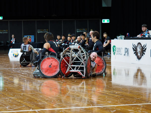 2017 GIO Wheelchair RugbyNational Championship AndGio 2018 IWRF Wheelchair Rugby WorldChampionship Official Test Event - Queensland vs Japan @disabilitysportsaustralia @wheelchairrugbyau