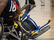 Casey-Stadium,-Melbourne,-Australia.-27th-August,-2017.-Inaugural-Wheelchair-AFL-Victorian-State-Championship-held-at-Casey-Stadium,-Cranbourne.-Credit:-PhotoabilityAlamy-Live-News