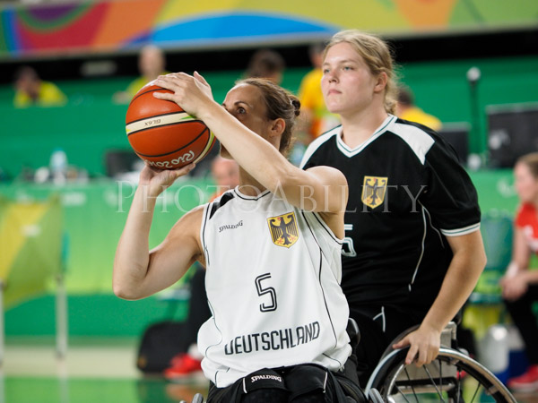 Rio Paralympic Games Women's Wheelchair Basketball Quarter Final between Germany and France