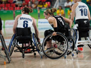 Rio-2016-Paralympics,-womans-wheelchair-basketball-pool-match-between-Germany-and-Great-Britain