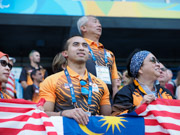 Malasian-team-supporters