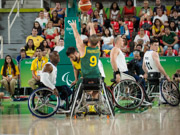 Rio-Paralympic-Games-Wheelchair-Basketball-Quater-Final-between-Australia-and-Great-Britain,-won-by-Great-Britain