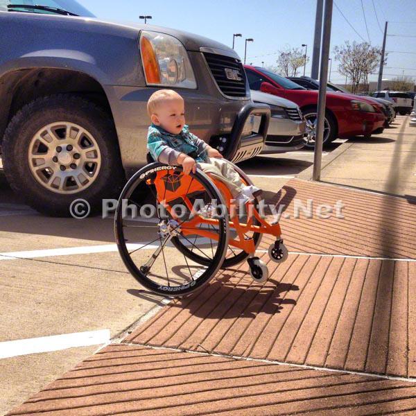 Wheelchair Baby
